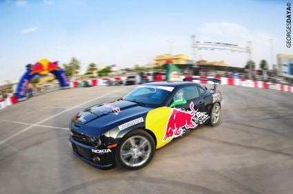 Awesome Shots Of Abdo Feghali At The Red Bull Drift Car Park Drift