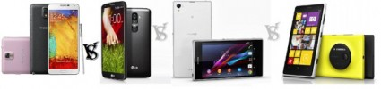 Galaxy-Note-III-vs-LG-G2-Vs-Xperia-Z-Lumia-1020