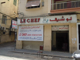 Le Chef under renovation