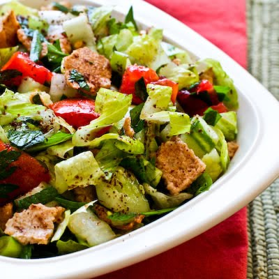 village Kab Elias, located in the Bekaa, prepared the largest fattoush ...