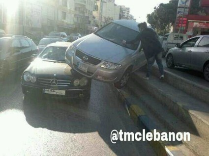 Car accidents in lebanon