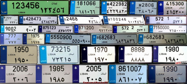 "Interior Minister Raya El Hassan to Make ""Special"" Car Plates Public for sale"