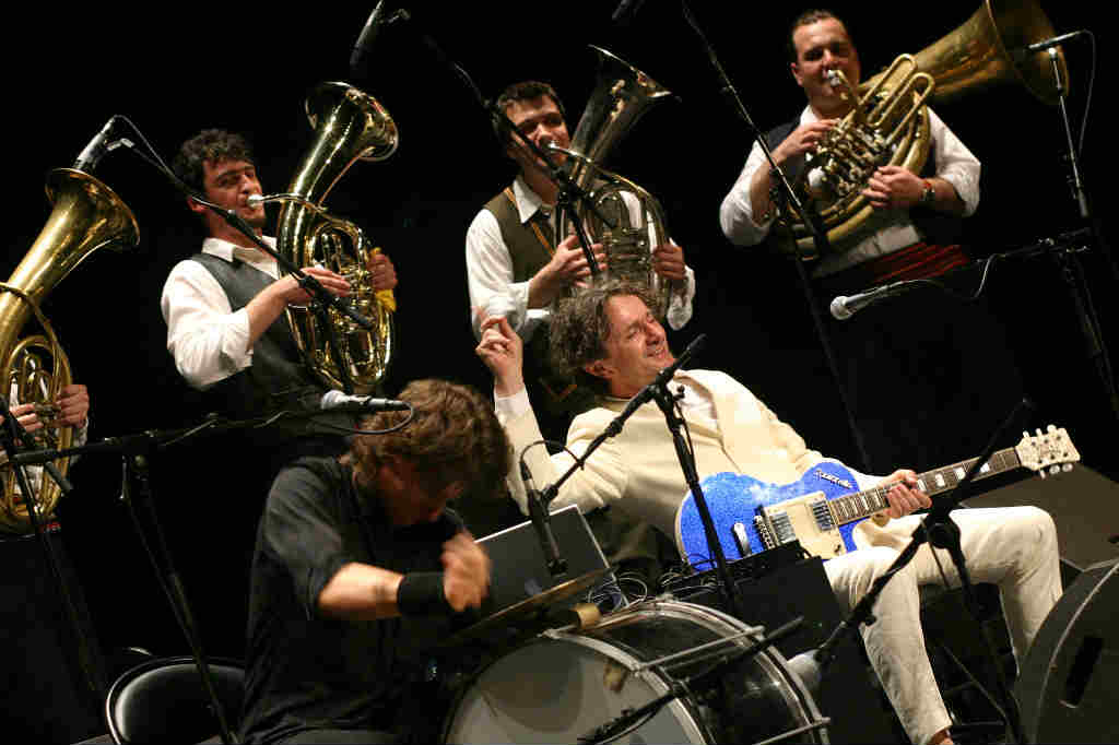 Goran bregovic with his band wedding and Funeral