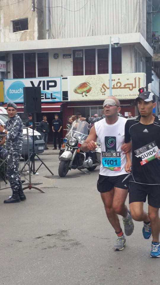 blind peace runner