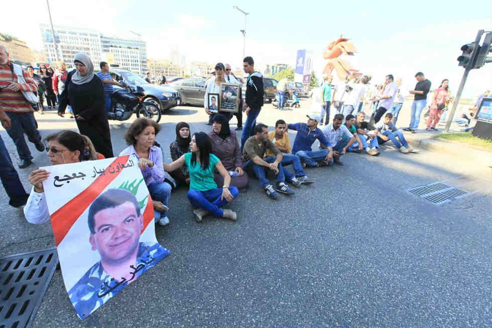 Lebanon protest aa