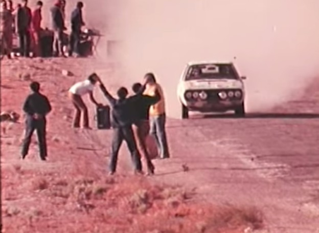Rare Footage From The Lebanese-Syrian Rally, AKA The Safari of the Middle East, In 1974