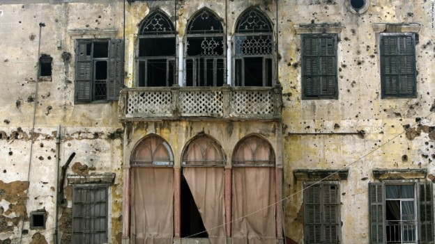 Old Buildings Of Beirut On The Verge Of Extinction