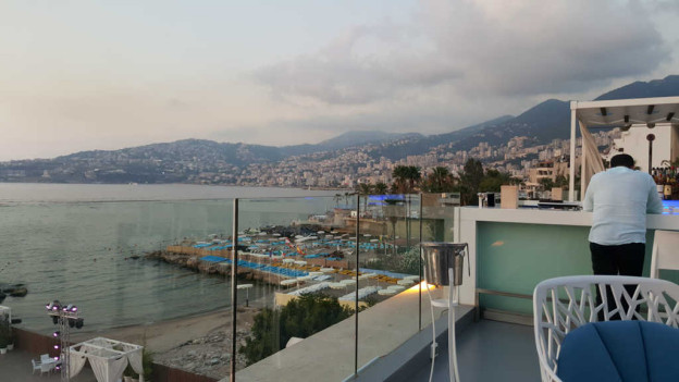 UBay: A Rooftop I Recommend In Jounieh