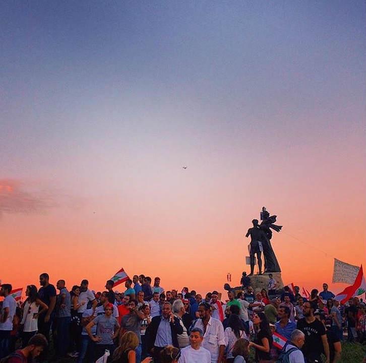 B Martyrs Sunset