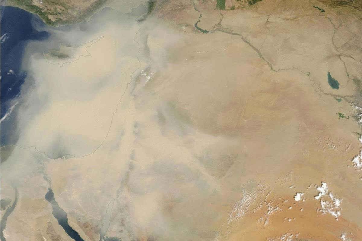 sandstorm nasa