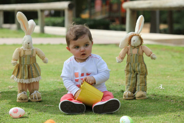 #BlogWaladi: Celebrating Baby Brian's First Easter