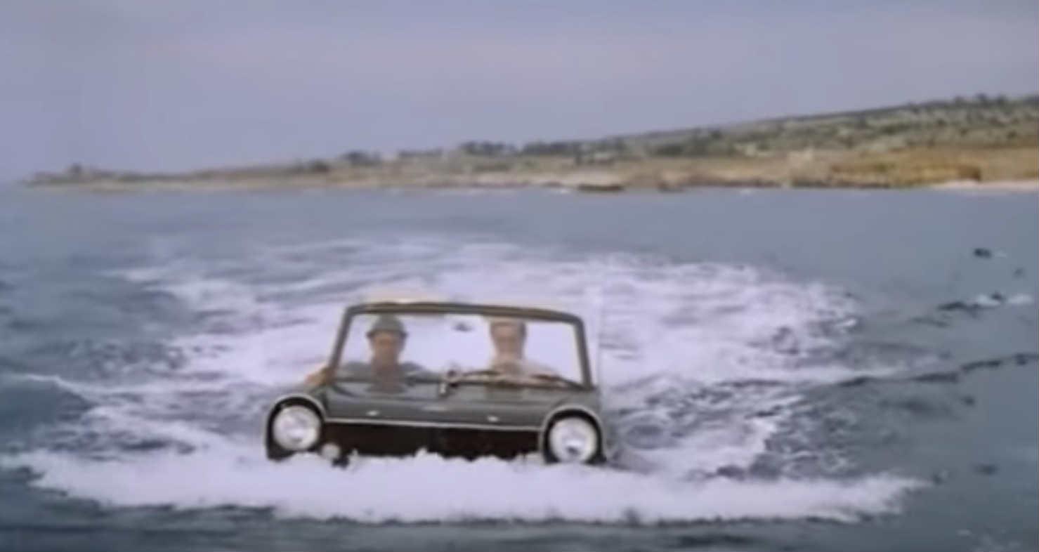 car sea