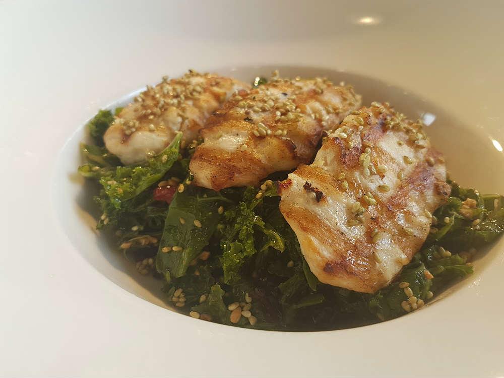 Kale Chicken Wasabi