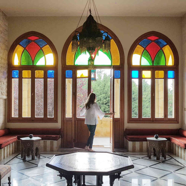 8 Stunning Pictures From Inside Lamartine/ Mezher's Palace, Hammana