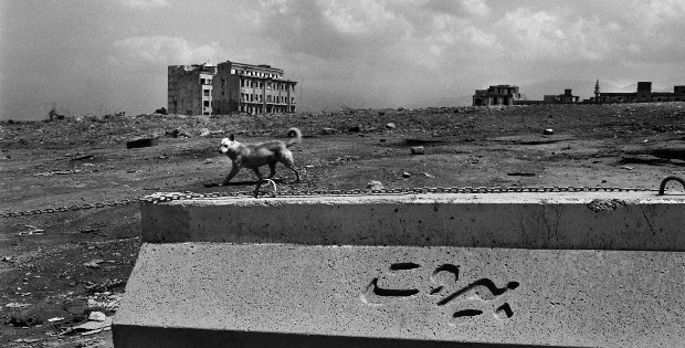 Solidere, Beirut - 1995. From Traces of War, Fouad Elkoury