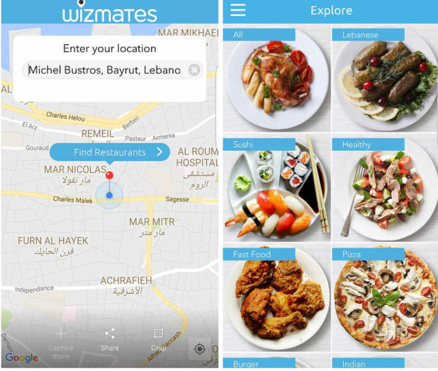 Wizmates: Online Food Delivery in Beirut Made Easy