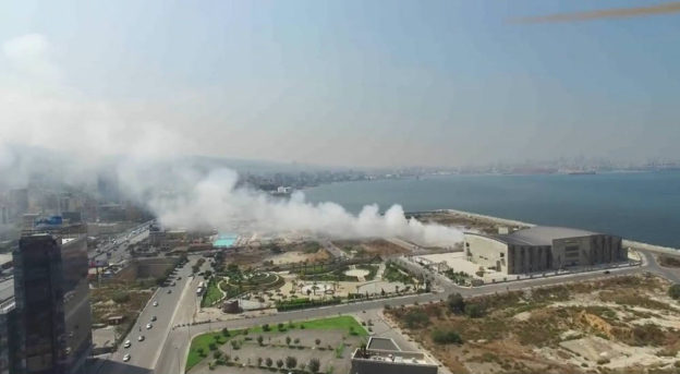For Those Wondering About That White Smoke Coming Out From Marina Dbayyeh