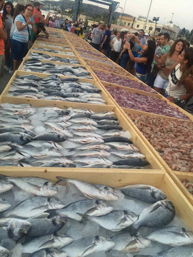 Batroun Enters Guinness Book of Records for The World's Biggest Sea Food Display
