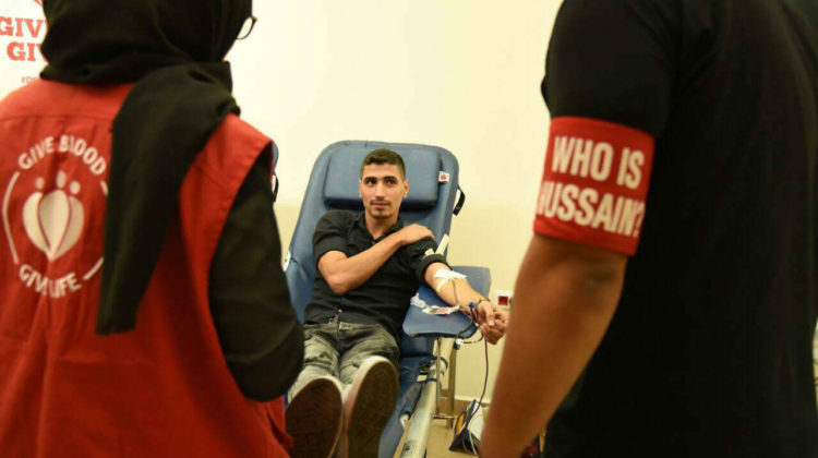 203 Blood Units Collected During Achoura by DSC Lebanon & Who is Hussain