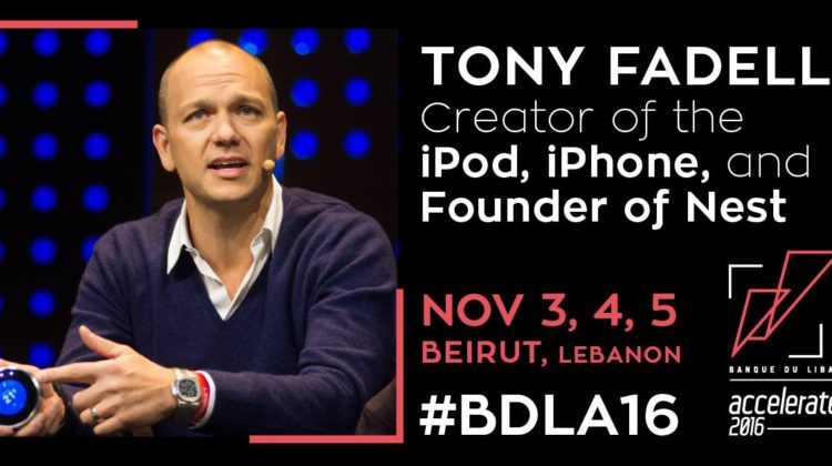 iPod Creator & Nest Labs Founder Tony Fadell Coming to the BDL Accelerate 2016