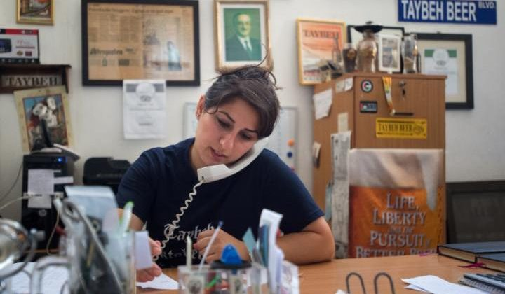 Meet Madees Khoury: The only Female Beer Brewer in the Middle East.