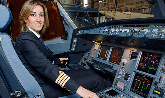 meet rola hteit the only lebanese female airline pilot blog baladi