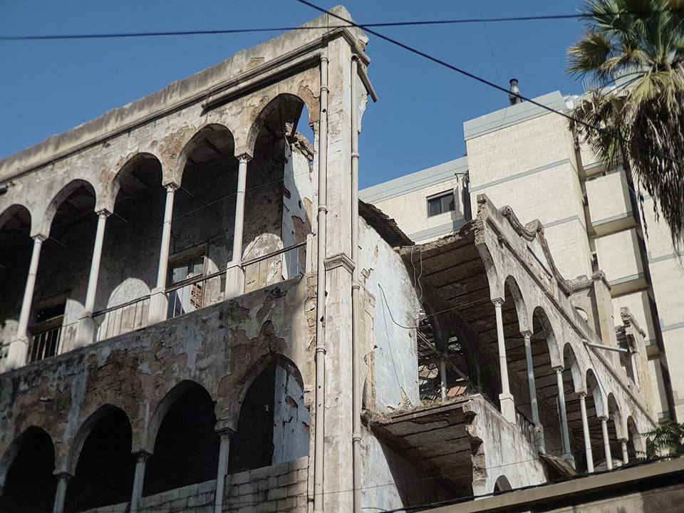 In Pictures: Bechara El Khoury Abandoned Palace in Zokak el