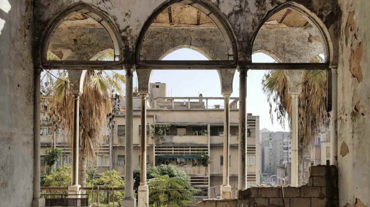 In Pictures: Bechara El Khoury Abandoned Palace in Zokak el-Blat