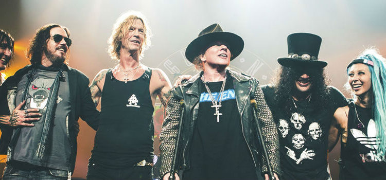 Reunited Guns N' Roses Are Coming to Dubai Next March, No Stops in #Beirut
