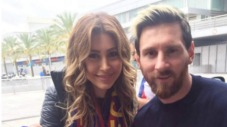 Messi Meets Lebanese Pop Star Yara but Doesn't Recognize her