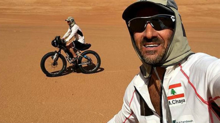 Maxime Chaya Aiming To Be The First To Cycle Across Rubh' Al Khali (Empty Quarter)