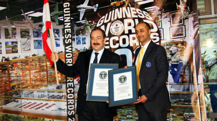 Billy Karam is Once Again The Holder of Two Guinness World Records