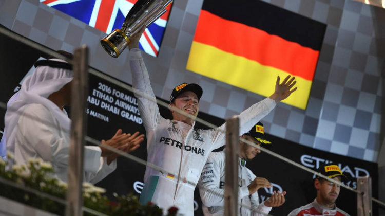 Rosberg is The 2016 F1 World Champion!