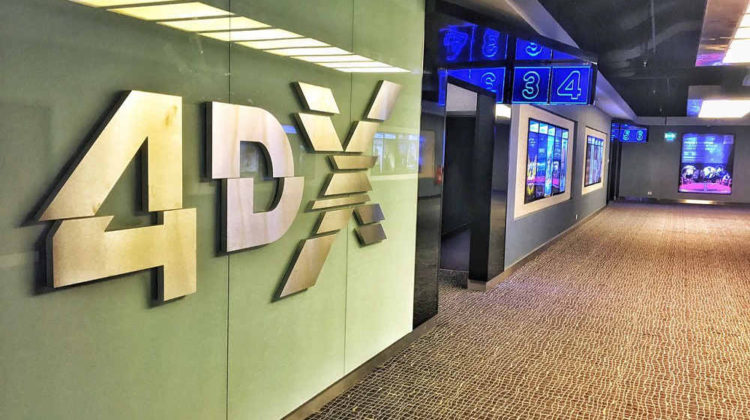 Vox Cinemas Now Showing 4DX Movies!