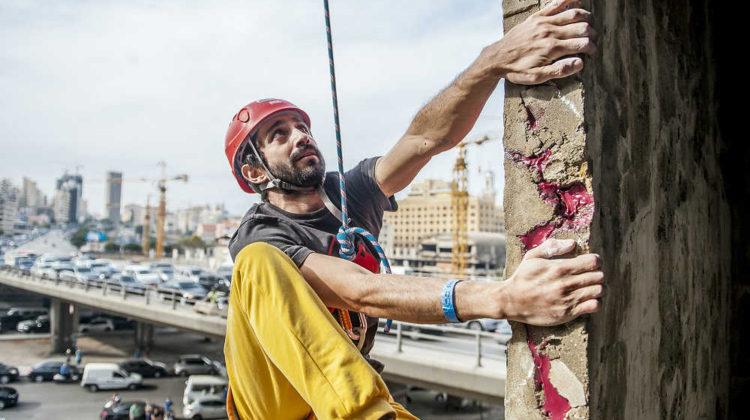 #RedBullCivilWall: Lebanese Climbers Conquering War-Torn Beirut Building