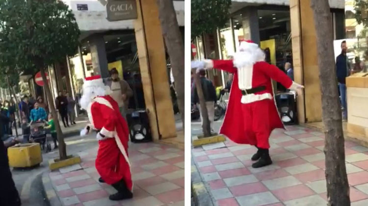 Bourj Hammoud's Dancing Santa