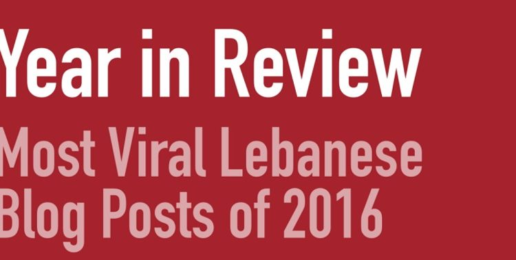 Lebanese Blogs 2016 Year in Review: BlogBaladi Among The Most Viral Blogs