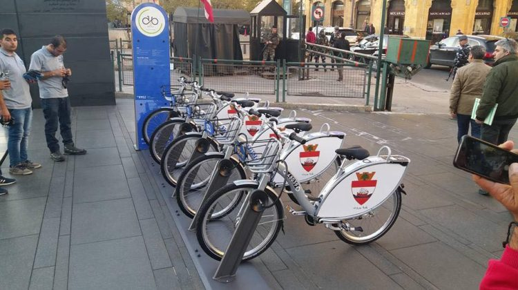 First Bike Sharing Station Launched in Beirut