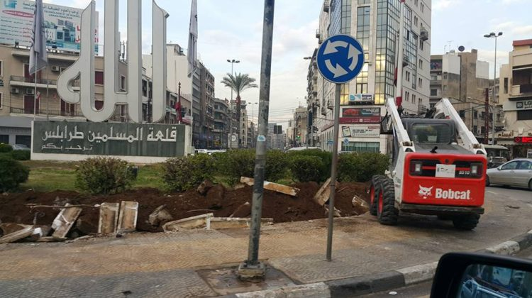 No More Political & Religious Slogans on Tripoli's Roundabouts?