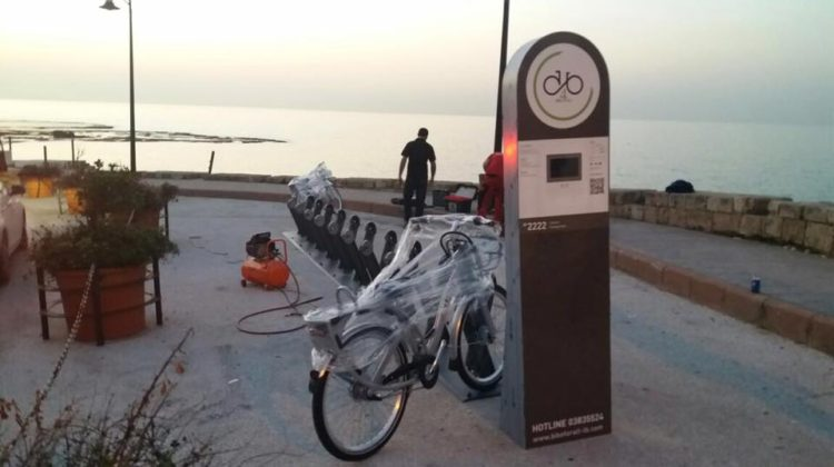 Byblos Got its First Bike Sharing Station as Well!