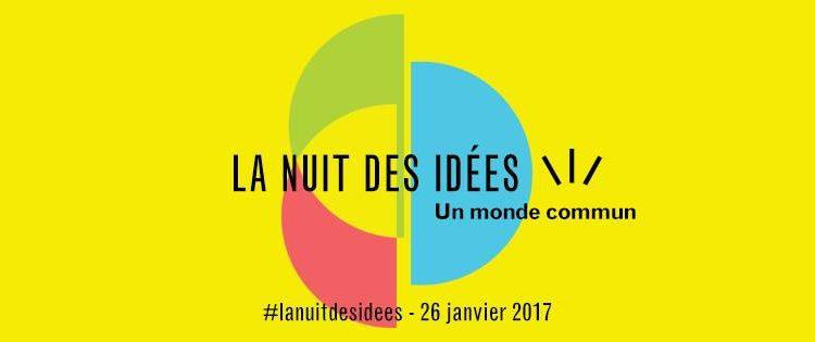 """I'm a Speaker at The French Embassy's """"La Nuit des idées"""" on Jan 26"""