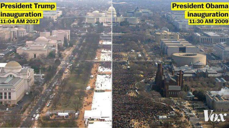 Trump Vs Obama Crowds Remind Me of M14 vs M8 Protests
