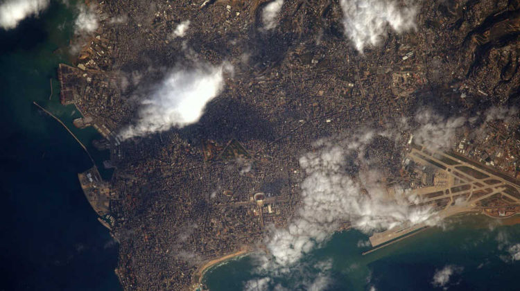 Beirut as Seen From Space
