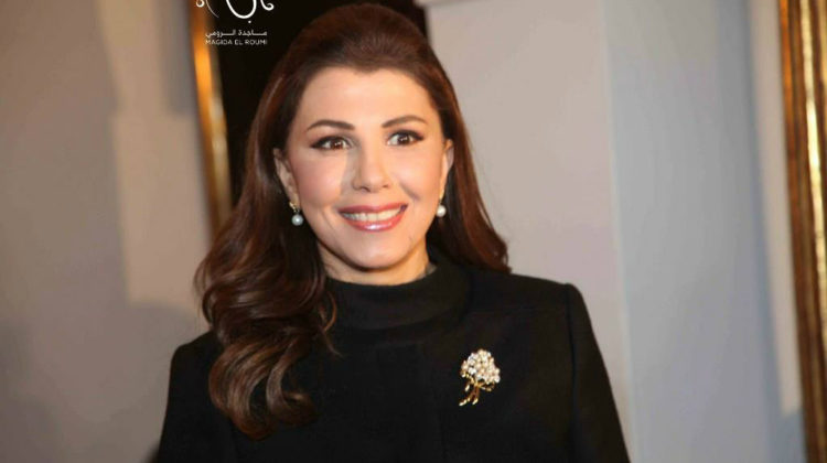 Majida El Roumi Honored by The Spanish Ambassador in #Lebanon