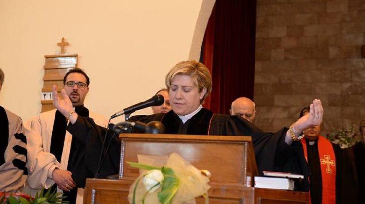 Tripolitan Rola Sleiman is Arab World's First Woman Pastor/Reverend
