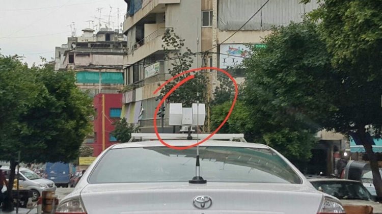 Google Street View Cars in #Beirut?