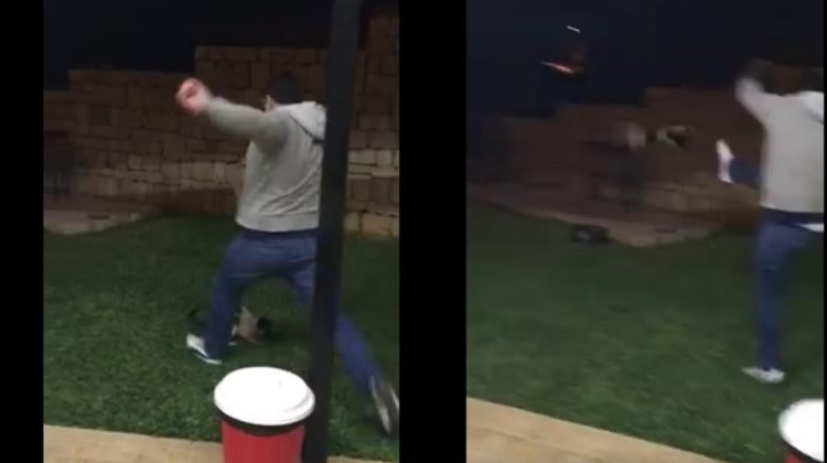 Help Identify The Guy Who's been Kicking Cats
