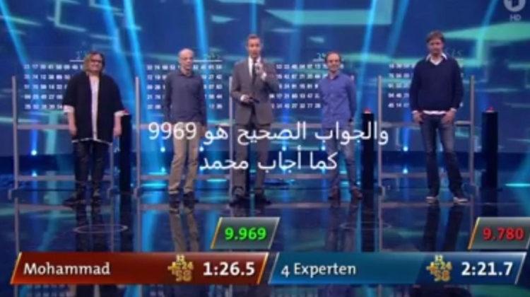 13-Year old Mohammad el Mir Impresses at a German Talent Show