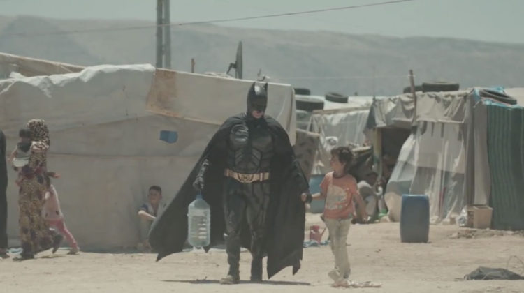 Batman to the rescue in the Bekaa