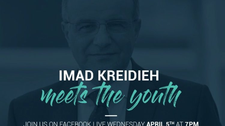Ogero Head Imad Kreidieh Facebook Live Session on April 5 At 7PM